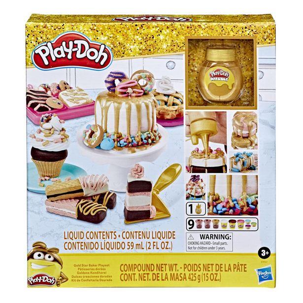 Oferta de Play-Doh - Dulces Creaciones Doradas por $314