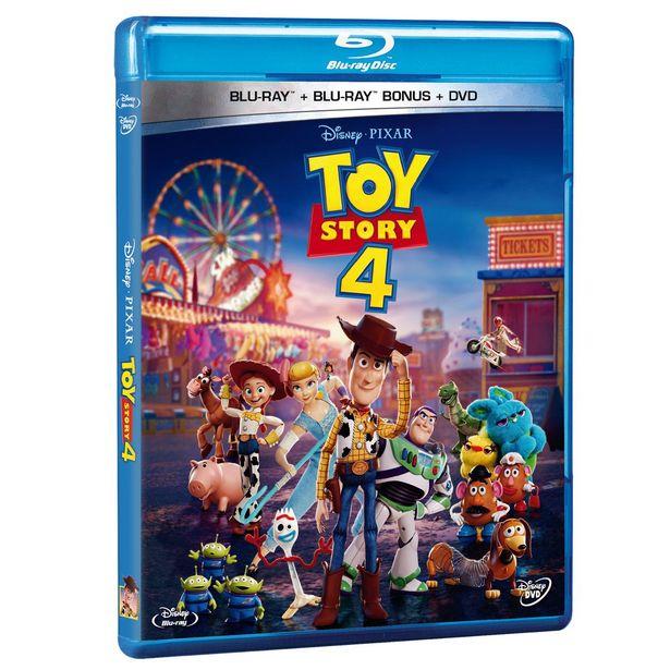 Oferta de Blue-Ray + Dvd Toy Story 4 por $255