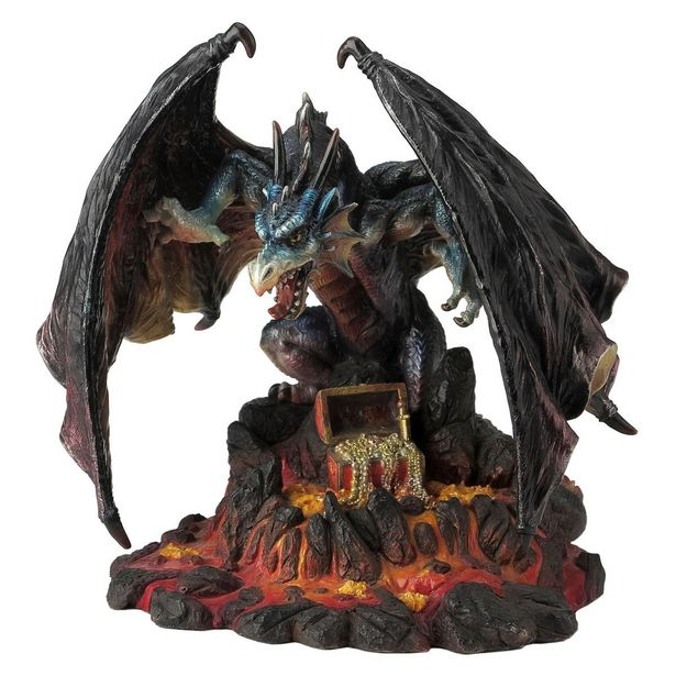Oferta de Figura Dragón Sobre Lava por $599
