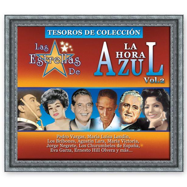 Oferta de Cd Las Estrellas De La Hora Azul-Tesoros De Colección Vol. 2 por $99