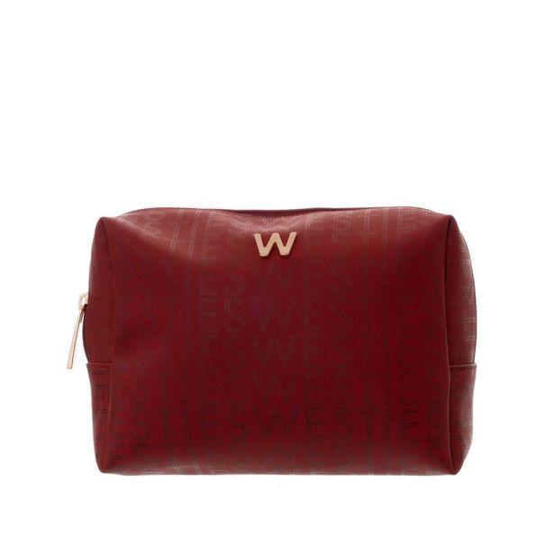 Oferta de Cosmetiquera Rojo Multicolor Westies por $314