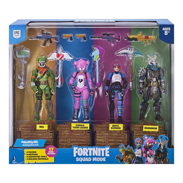 Oferta de Paquete De Figuras Squad Mode Fortnite por $979
