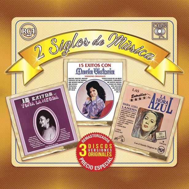 Oferta de Cd3 María Victoria, Toña La Negra , Maria Luisa Landin - 2 Siglos De Música por $99