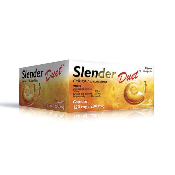 Oferta de Slender-Duet 120Mg/200Mg Con 90 Cap por $849