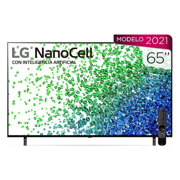 "Oferta de Pantalla Lg Nanocell Tv Ai Thinq 4K 65"" 65Nano80Spa por $22975"
