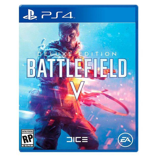 Oferta de Ps4 Battlefield V Deluxe Edition por $499