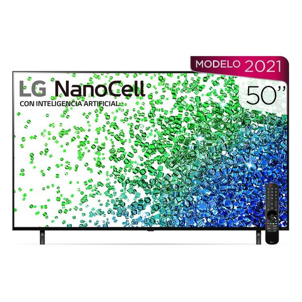 "Oferta de Pantalla Lg Nanocell Tv Ai Thinq 4K 50"" 50Nano80Spa por $13875"