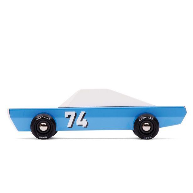 Oferta de Coche De Madera Racer Azul Blu-74 por $636