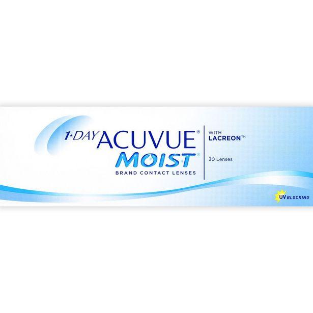 Oferta de 1-Day Acuvue Moist 8.5 14.2 -5.50 por $487