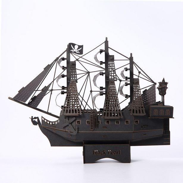 Oferta de Rompecabezas Barco Perla Negra por $195