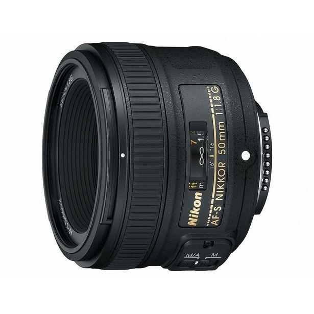 Oferta de Lente Nikon Af-S 50 Mm F / 1.8G por $5759
