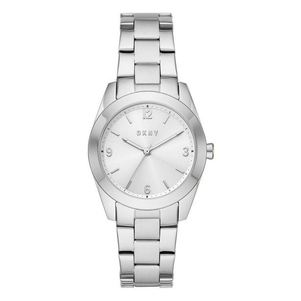 Oferta de Reloj Dkny Nolita Plateado Ny2872 Para Dama por $1344