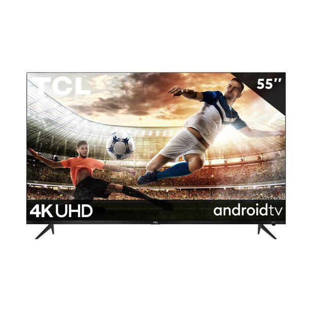 "Oferta de Pantalla Tcl 55"" 4K/uhd Smart Tv Dolby Vision (Android Tv) 55A527 por $10295"