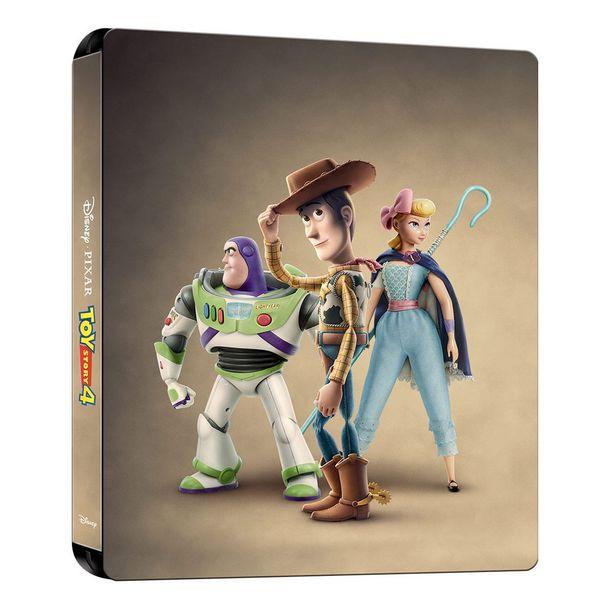Oferta de Br Steelbook Blue-Ray + Dvd Toy Story 4 por $363