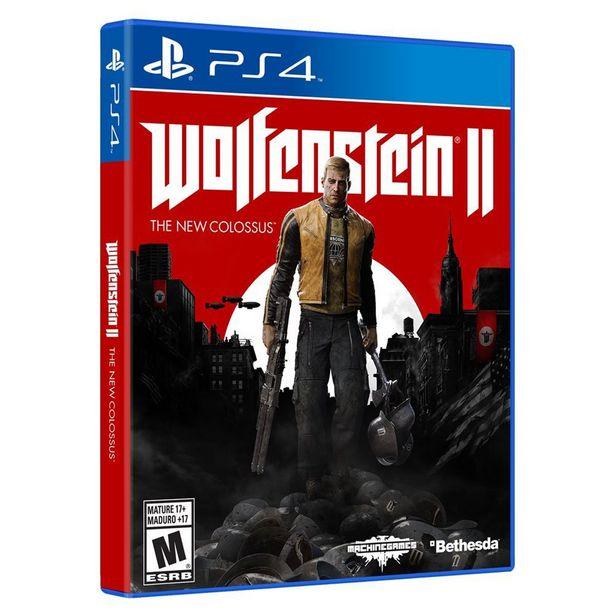 Oferta de Ps4 Wolfenstein 2 The New Order por $594