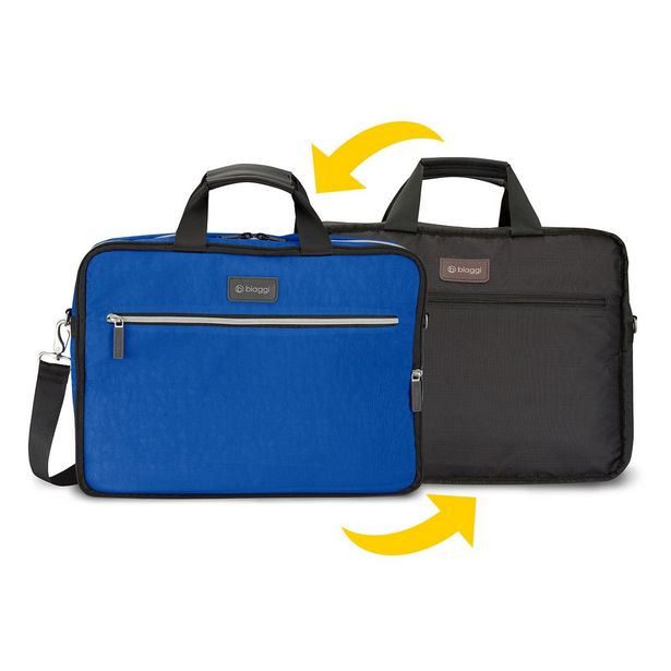 Oferta de Bolsa Técnica Reversible Azul Biaggi por $587