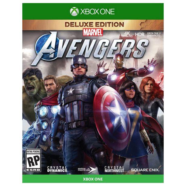 Oferta de Xbox One Marvel Avengers Deluxe Edition por $1099