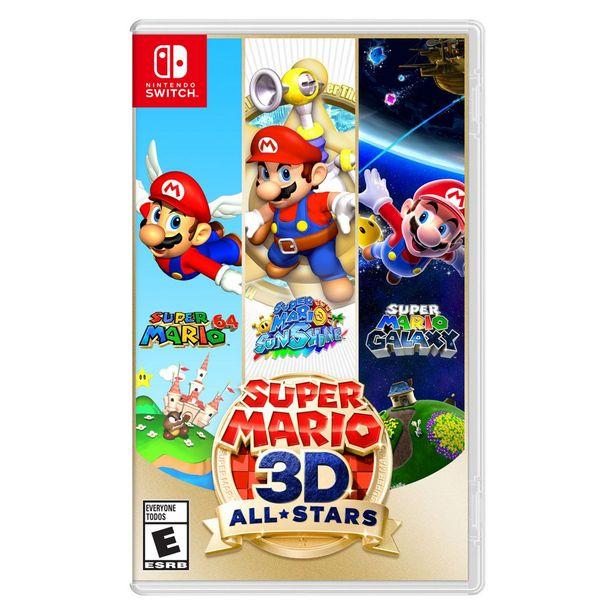 Oferta de Super Mario 3D All Stars Nsw por $1399