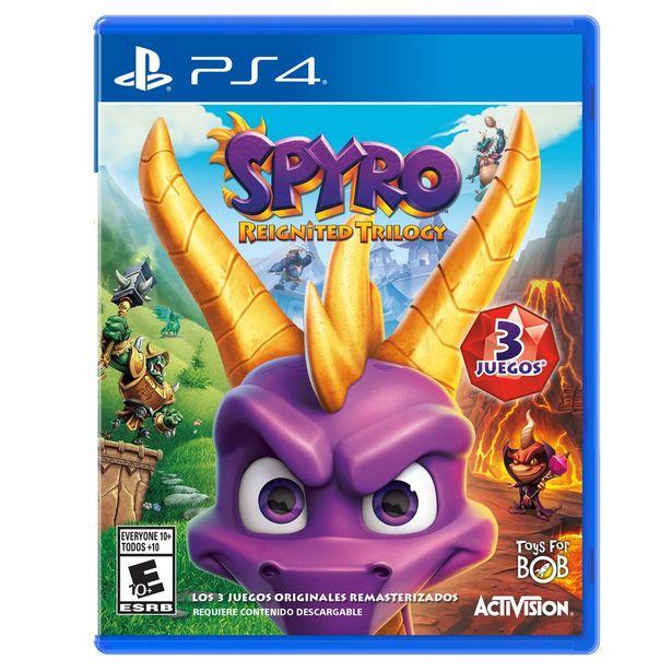 Oferta de Ps4 Spyro Reignited por $549