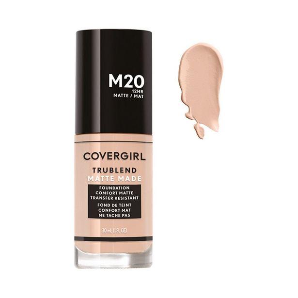 Oferta de Base De Maquillaje Líquida Covergirl Trublend Matte M20 Warm Beige por $137