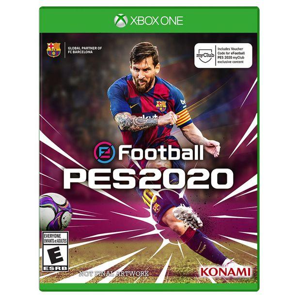 Oferta de Xbox One Pro Evolution Soccer 2020 por $374
