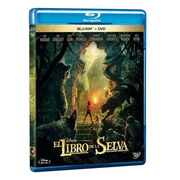 Oferta de Br/dvd Libro De La Selva por $269