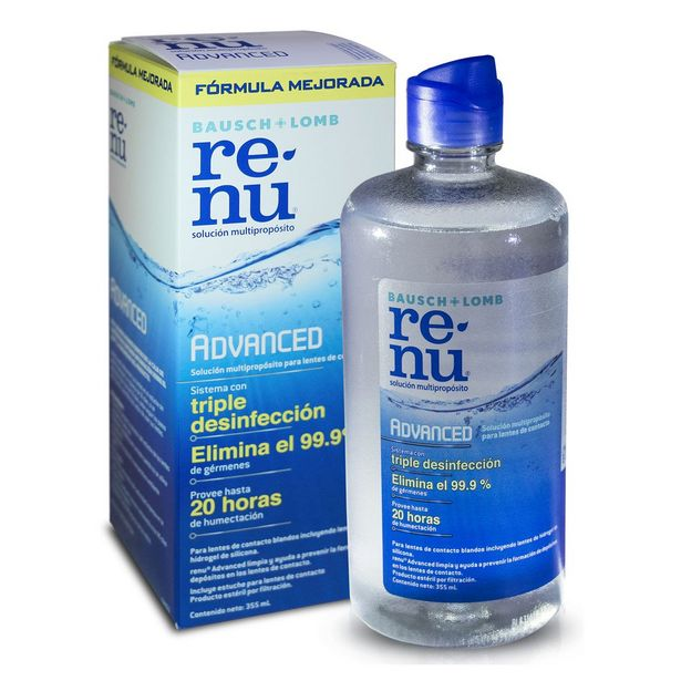 Oferta de Solución Renu Advanced 355Ml por $255