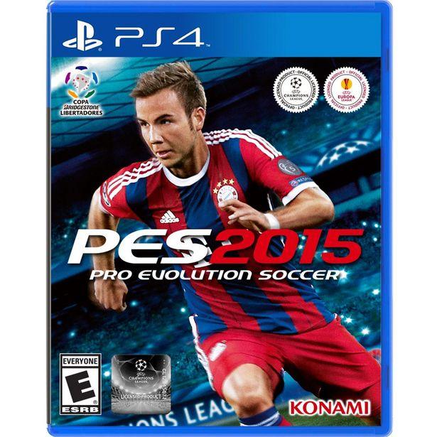 Oferta de Ps4 Pro Evolution Soccer 2015 por $399