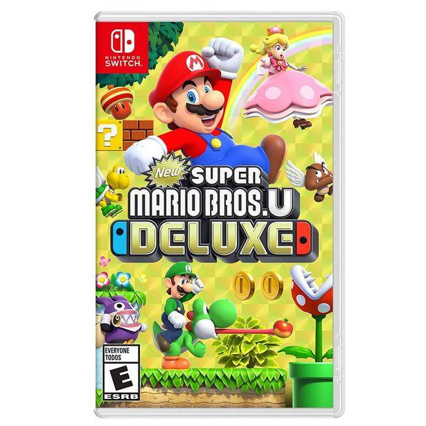 Oferta de Nsw New Super Mario U Deluxe por $1399
