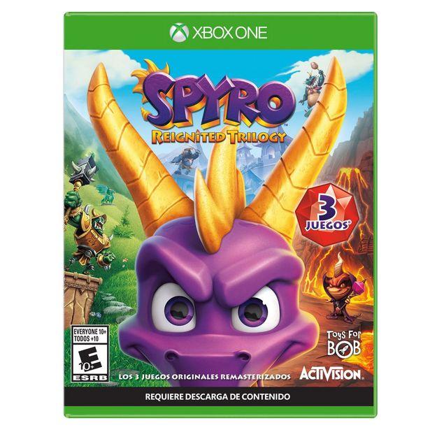 Oferta de Xbox One Spyro Reignited por $549