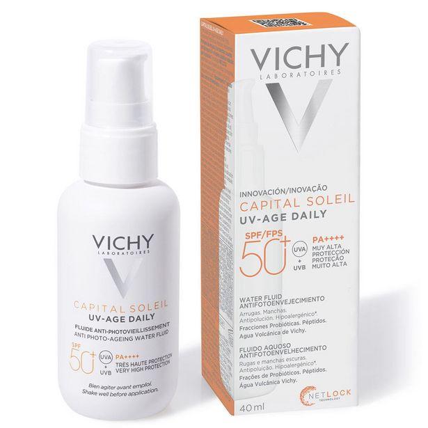 Oferta de Vichy Bloqueador Solar Anti Edad Para Rostro C/ Vitamina E por $426