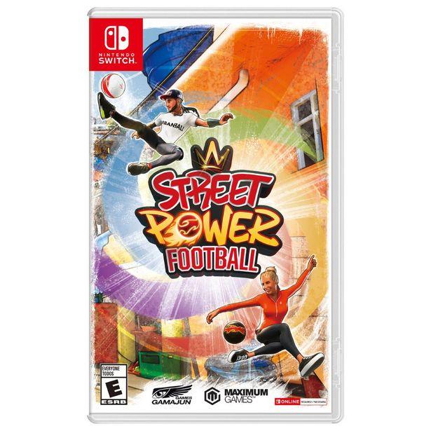 Oferta de Nintendo Switch Street Power Football por $257