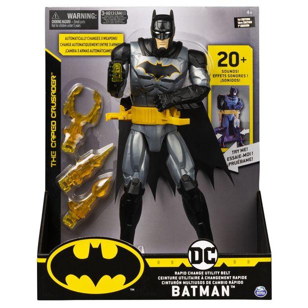 Oferta de Figura 12 De Lujo Batman por $489
