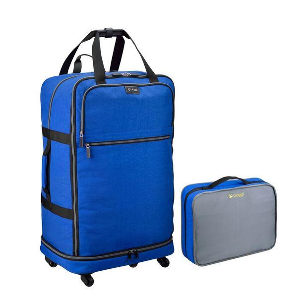 Oferta de Maleta Expandible 31 Azul Biaggi por $1609