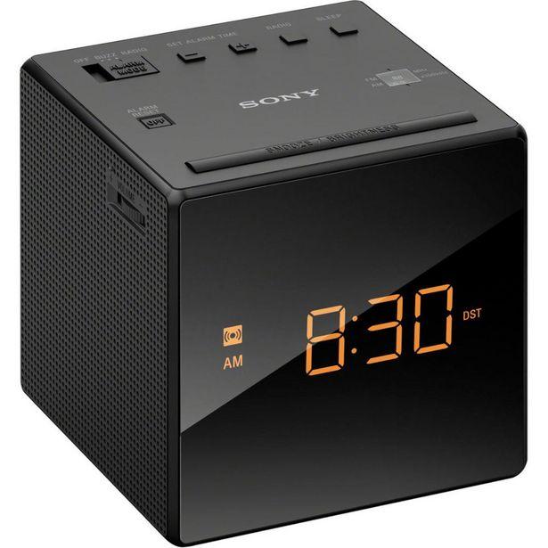 Oferta de Radio Despertador Sony Icf-C1 Negro por $809