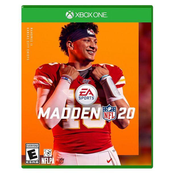 Oferta de Xbox One Madden Nfl 20 por $299