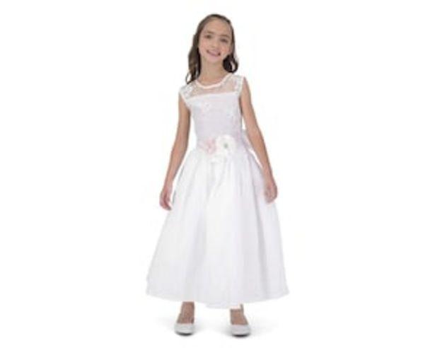 Oferta de Vestido de Fiesta Blanco Juvenil por $499