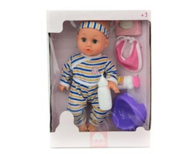 Oferta de Muñeca con Accesorios Baby Bu por $199