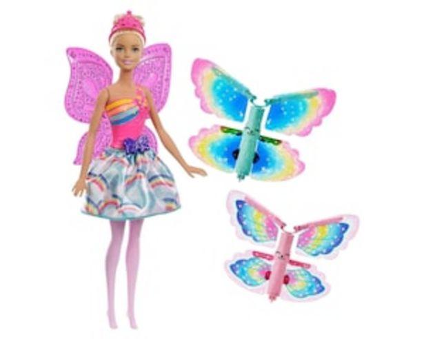 Oferta de Muñeca Barbie Hada Alas Mágicas por $329