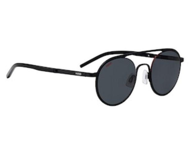 Oferta de Lentes de Sol Hugo Redondos color Negro por $3009