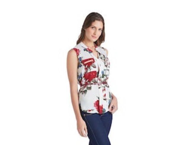 Oferta de Blusa Sahara Estampada por $199