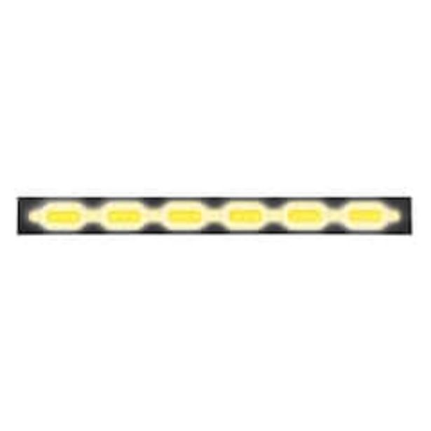 Oferta de Luz Led Auxiliar Mitzu 10-5844 color Amarillo Flexible de 25.5 cm por $221