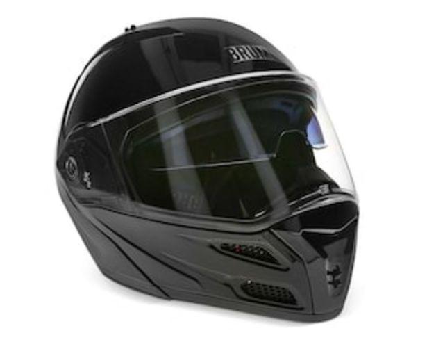 Oferta de Casco para Motocicleta Brumm Extragrande color Negro por $1499