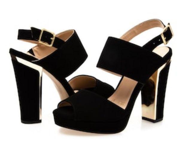 Oferta de Sandalias marca Jennifer Lopez color Negro para Mujer por $229