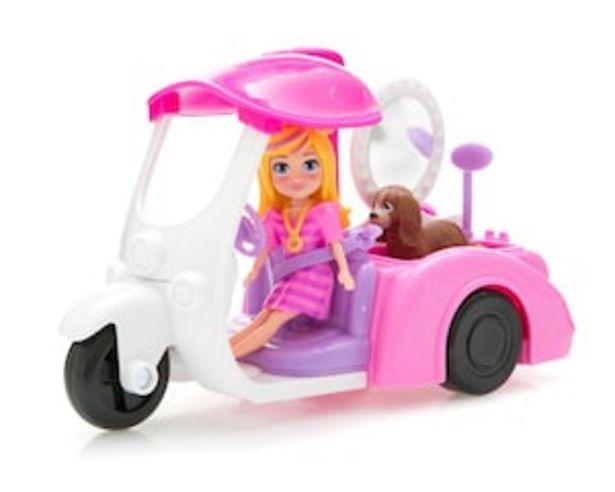 Oferta de Polly Pocket Vehículo Baño de Perritos por $199
