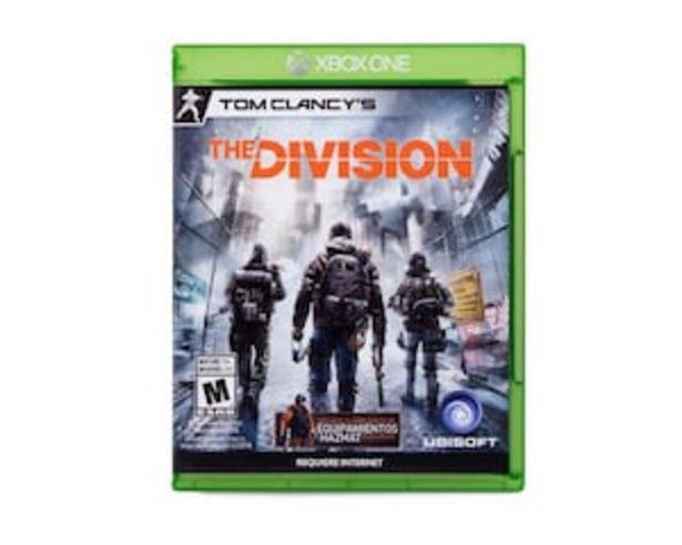 Oferta de Tom Clancy's The Division para Xbox One por $499