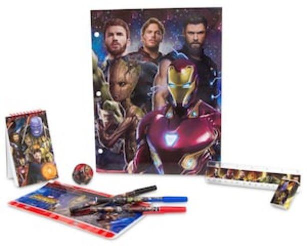 Oferta de Set Escolar Avengers por $44