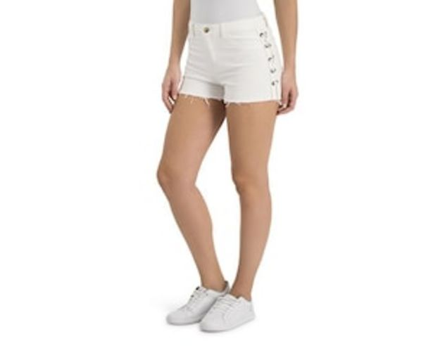 Oferta de Short Blanco marca Thinner para Mujer por $179