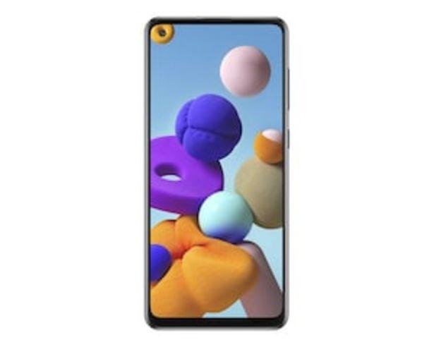Oferta de Virgin Samsung Galaxy A21S 64 GB Negro por $5999