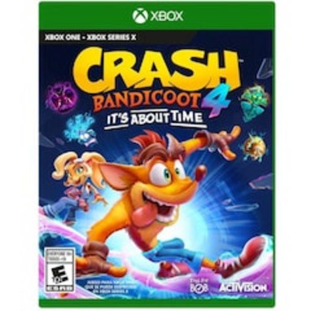 Oferta de Crash Bandicoot 4: It's About Time para Xbox One por $1499